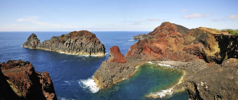 Nature surréelle de l'îlot de la Baleine (baleine), authentique symbole de Graciosa