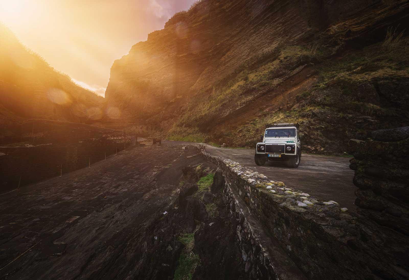 Expérience fabuleuse de l'île de Pico en 4×4 aux Açores