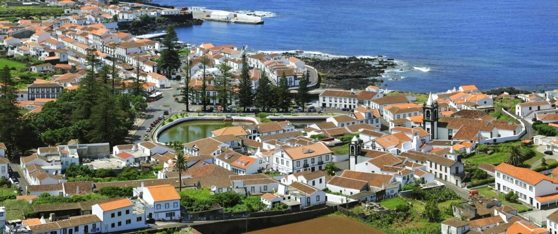 Église Matrice de Santa Cruz da Graciosa l'un des premiers bâtiments religieux construit au XVIIIe siècle