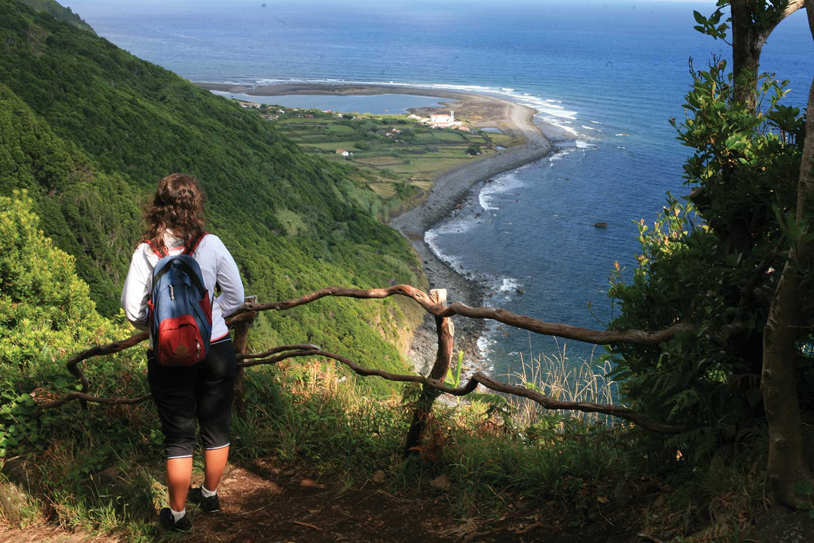 Excursion Tour de l'île de São Jorge aux Açores, journée entière