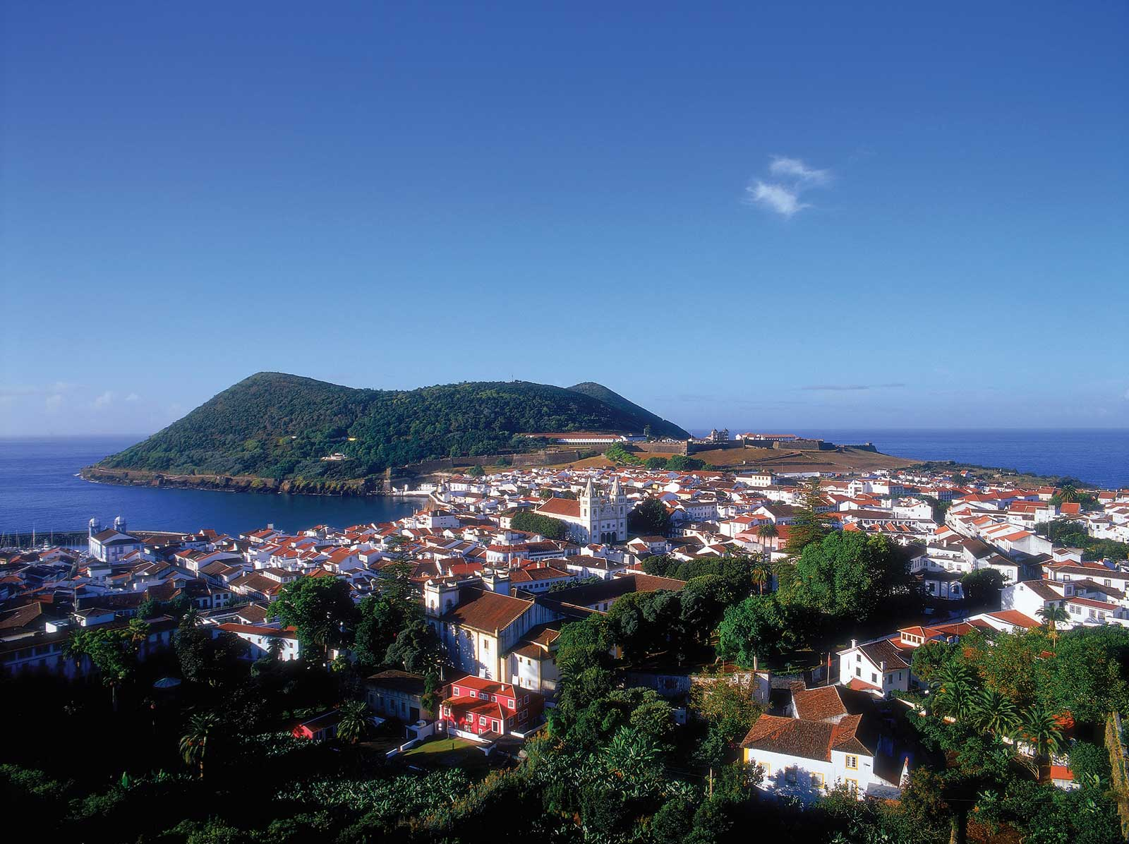 Excursion Tour de l'île de Terceira en partant de Angra do Heroísmo, journée entière